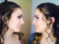 Matric dance makeup for these 2 beautifu