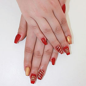 Christmas Nails.. 🎄_#acrylicnails #acry