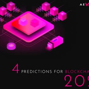 4 PREDICTIONS FOR BLOCKCHAIN IN 2021
