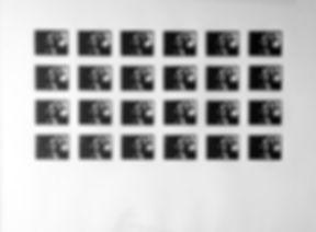 01:22:39 - 24 pointes sèches sur plexiglas 5 x 6,7 cm tirées sur Bfk Rives 250 gr - 50 x 65 cm - 2018