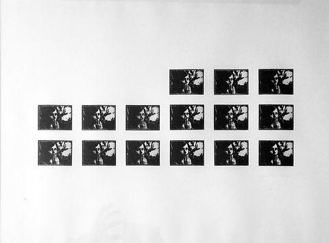 01:22:38 - 15 pointes sèches sur plexiglas 5 x 6,7 cm tirées sur Bfk Rives 250 gr - 50 x 65 cm - 2018