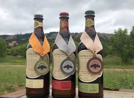 Gold, Silver and Bronze—Gowan's Ciders Sweep Nor Cal Brew Fest