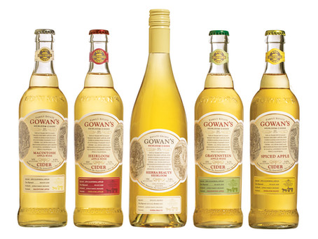 Gowan's Cider Wins Best-in-Class Packaging in North America's Largest Wine Competition