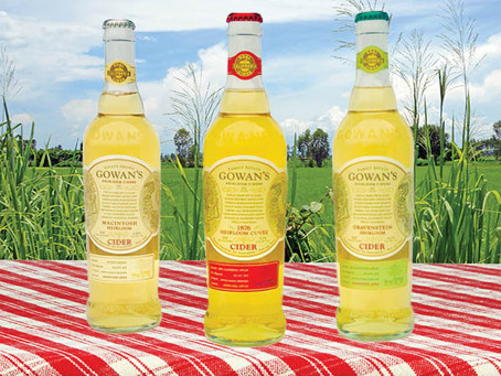 The Big Reveal—Elegant New Bottles for Gowan's Award-winning Ciders