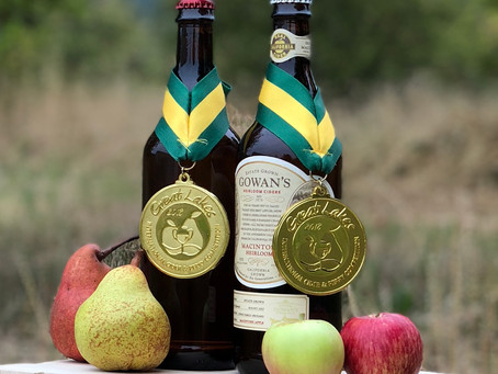 Best in Class Gold for Gowan's Cider and Perry