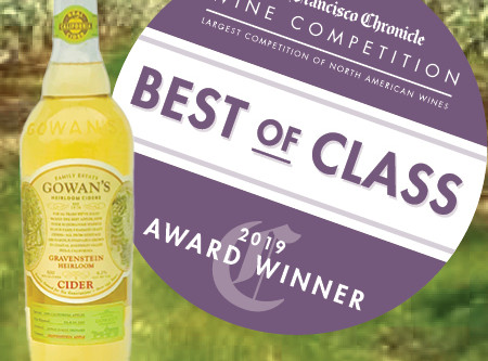 Best in Class Gowan's Gravenstein Cider