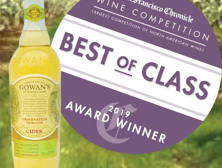 Best in Class Gowan's Gravenstein Cider