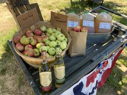 Fresh apples juice sweet ciders