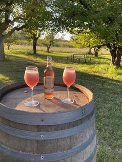 Pinot Rose Cider Slushie