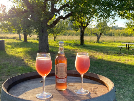 Rosé Cider Slushie