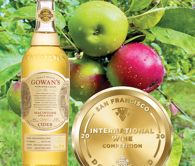 Macintosh Cider Wins BEST CIDER