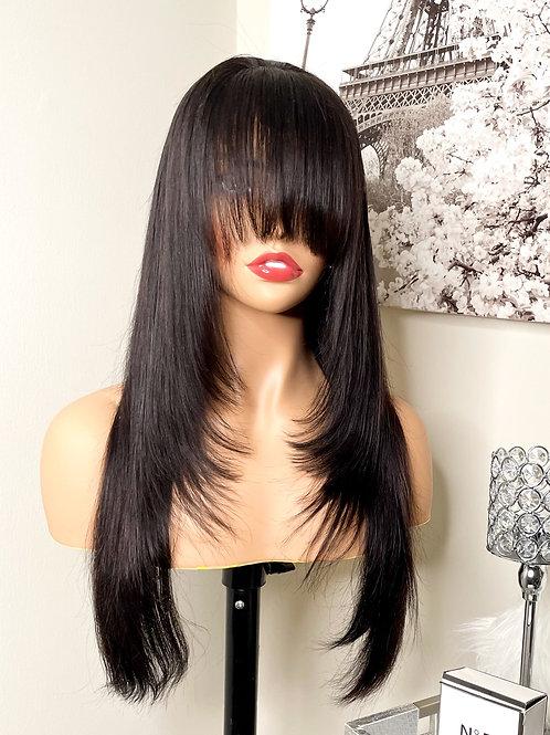 "Katie 20"" Straight Closure Wig"