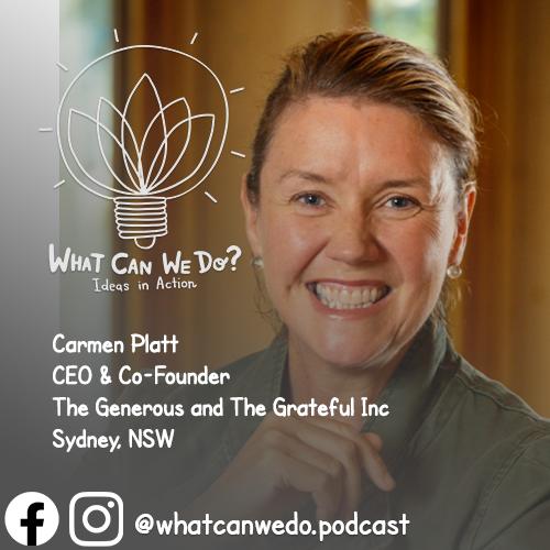 Carmen Platt CEO Help People Fleeing Danger