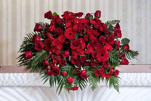 Half-Casket W Roses