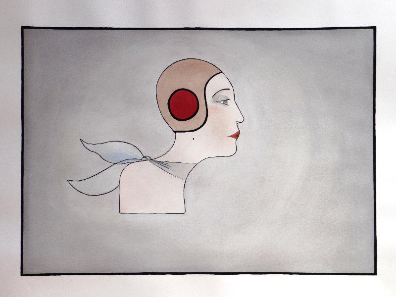 Mlle Du Volant (couleur)