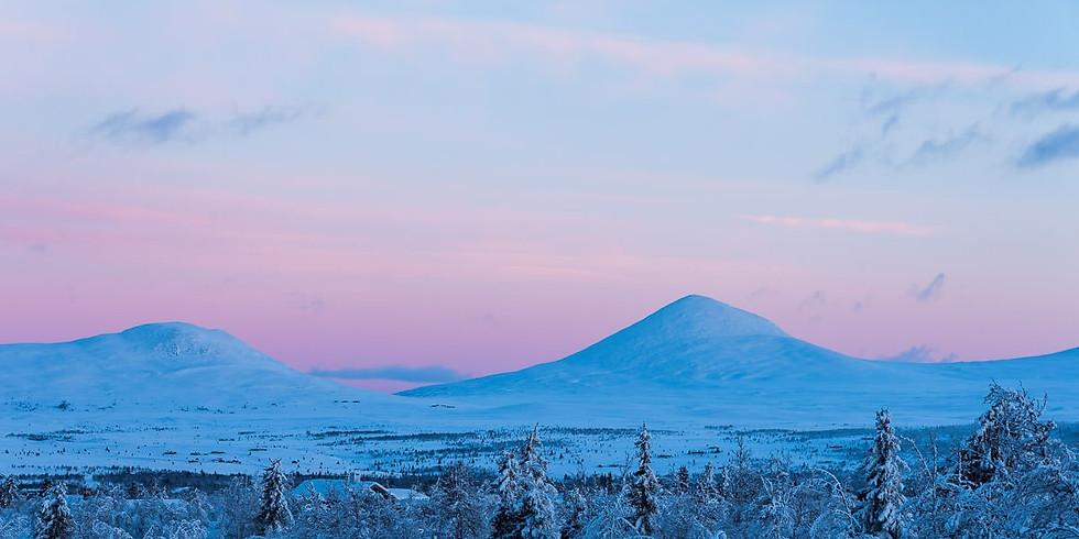 Yogahelg ♡ Vintervåkning på Venabygdsfjellet