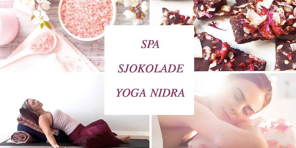Drømmehvile / Yoga Nidra & Sjokolade
