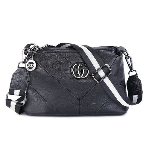 Black and White Inspired by crossbody bag