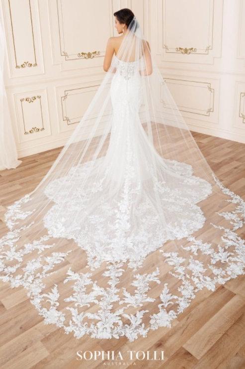 Sophia Tolli Veil - Y22050VEIL