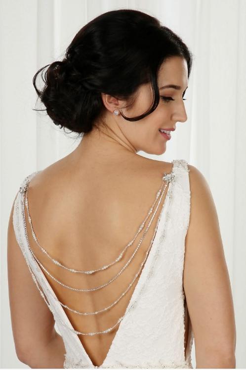 Delicate Beaded Back Jewellery