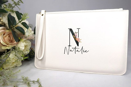 Personalised Clutch / Cosmetic bag