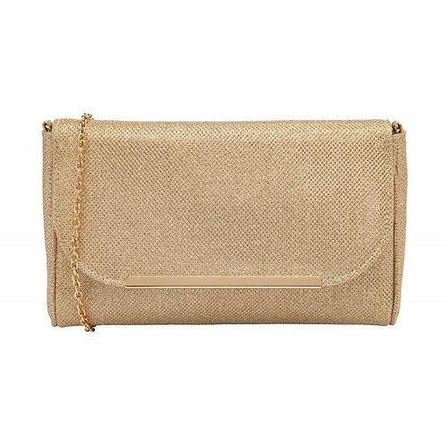 Denise Shimmer Clutch Bag | Lotus