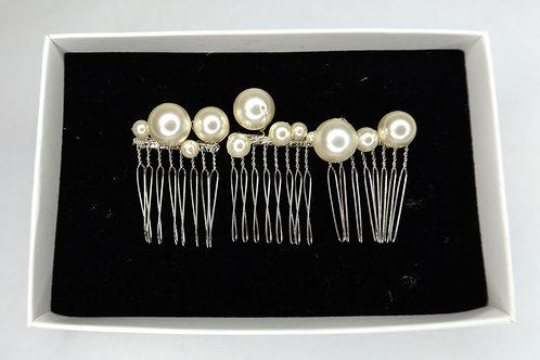 Clustered Pearl Mini Combs
