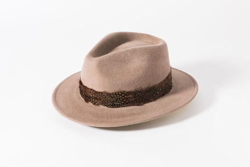 Brushed Wool Felt Fedora