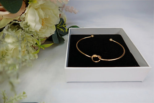 'CAN'T TIE THE KNOT WITHOUT YOU!' Knot Bangle