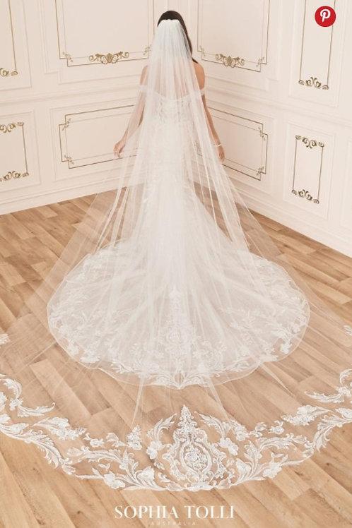 Sophia Tolli Veil - Y12033VEIL