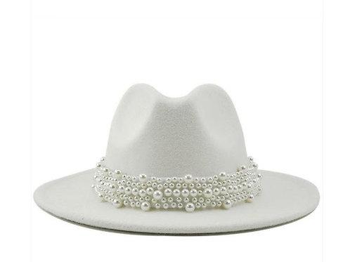 Pearl Fedora Hat