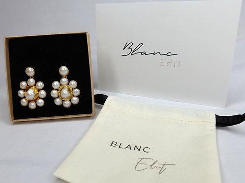 Blanc Edit - 'Fleur' Earrings