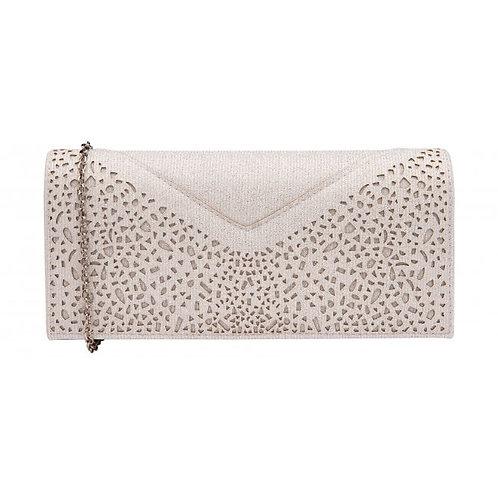 Esmee Textured Clutch Bag | Lotus