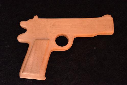 pistolet chien ouvert Chêne