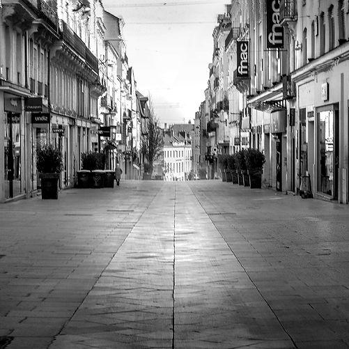 Rue Lenepveu  à Angers - France