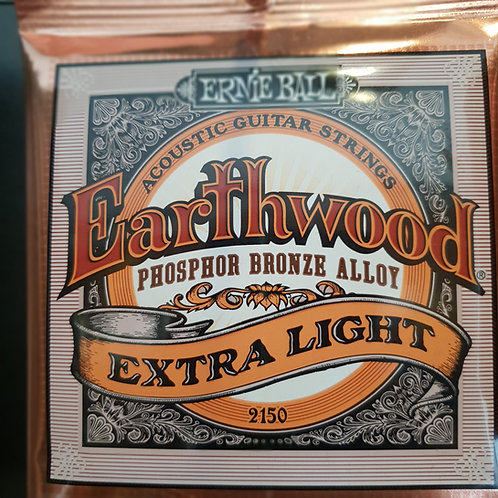Ernie Ball Earthwood Extra Light .010 phosphor bronze