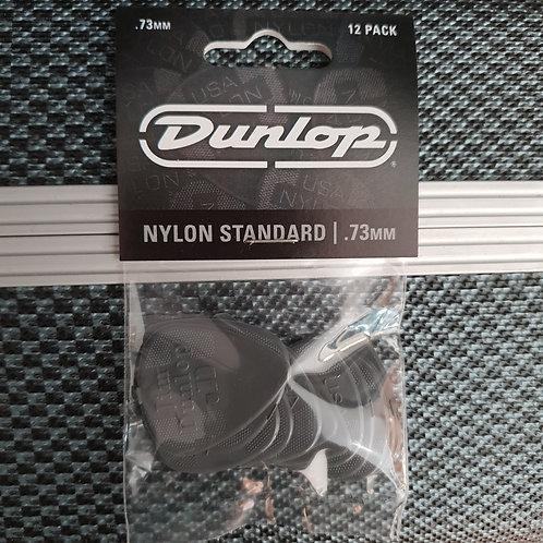 Dunlop Nylon Standard .73mm 12 pack