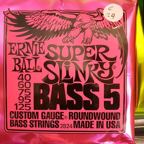 Ernie Ball 5 corde Super Slinky 40 - 125