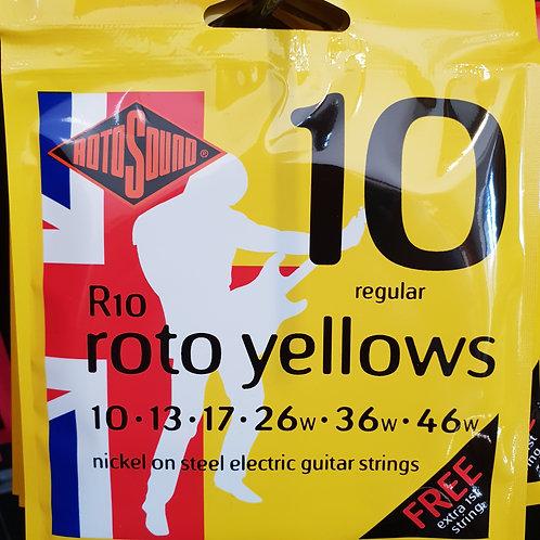 Rotosound Roto Yellows 10-46