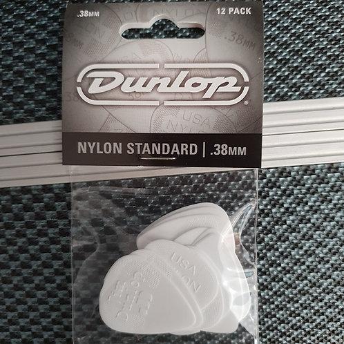 Dunlop Nylon Standard .38mm 12 pack