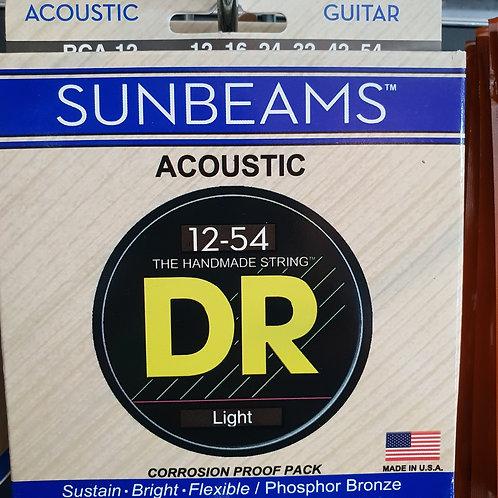 DR Sunbeams light .012 - .054