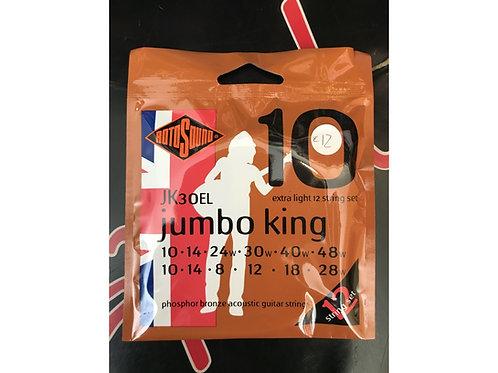Roto Sound 12 corde Jumbo King .010 - .048