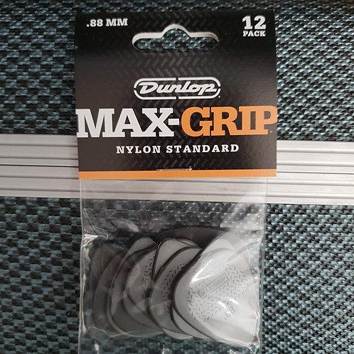 Dunlop Max-Grip Nylon Standard .88mm 12 pack