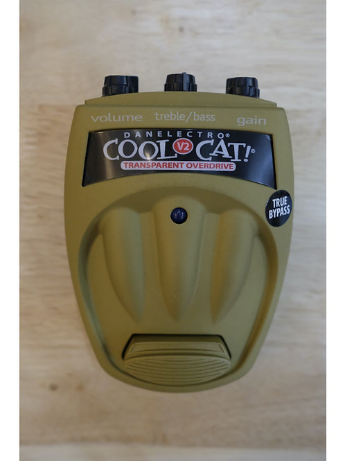 Danelectro Cool Cat v2 transparent overdrive