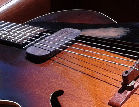 Archtop pickup