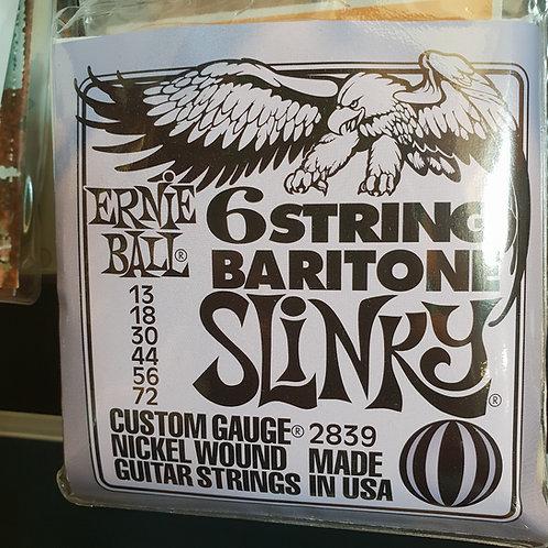Ernie Ball per chitarra baritona Baritone Slinky .013 - .072