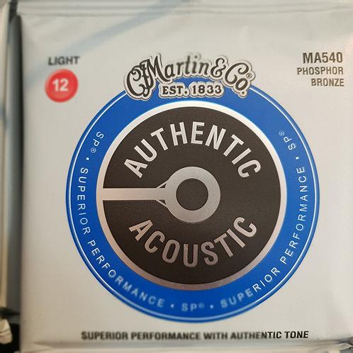Martin Authentic Acoustic .012 phosphor bronze