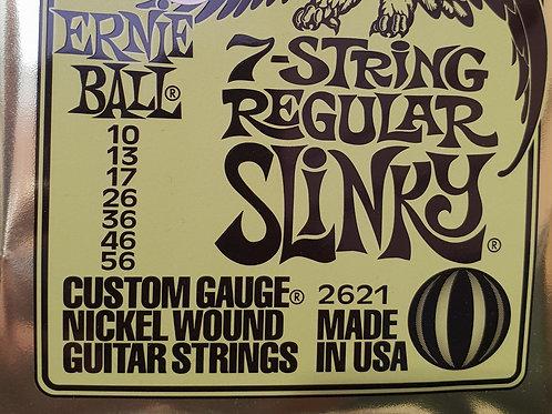 Ernie Ball 7 String Regular Slinky .010 - .056