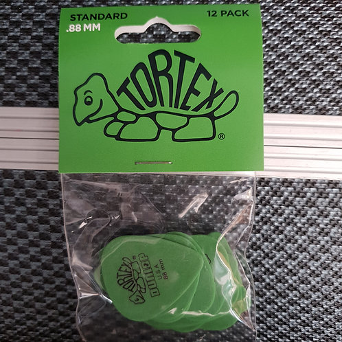 Tortex Standard .88mm 12 pack