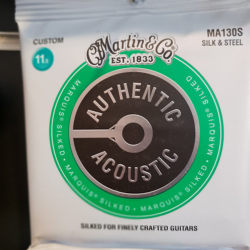 Martin Authentic Acoustic.011 seta & acciaio
